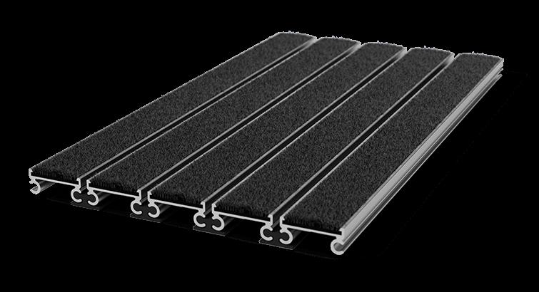 tapis d 39 entr e encastrable pediluxe 20mm aluminium. Black Bedroom Furniture Sets. Home Design Ideas