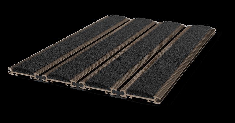tapis d 39 entr e encastrable pedimat 12mm aluminium. Black Bedroom Furniture Sets. Home Design Ideas
